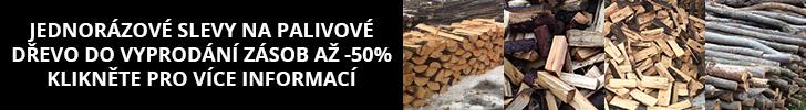 Palivové dřevo - akční nabídka
